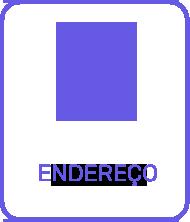 Think Data Icone de Endereço