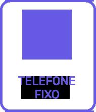 Think Data Icone de Telefone Fixo